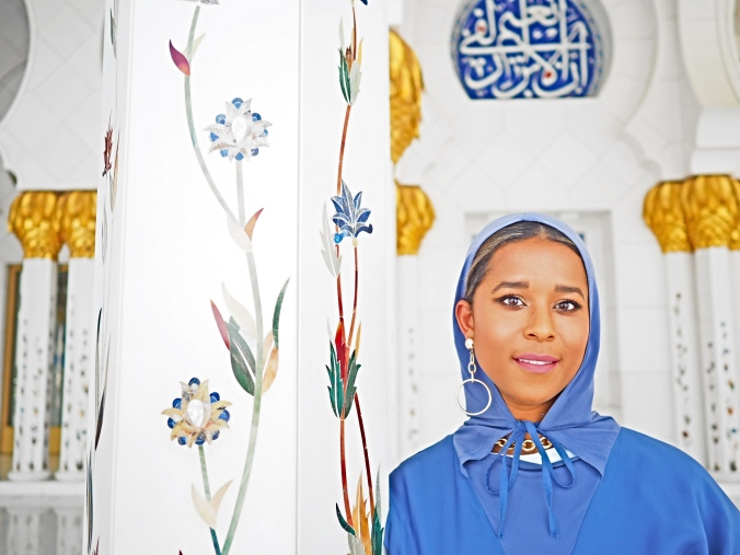 closeup mosque
