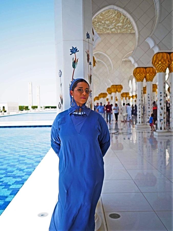 mosque standing